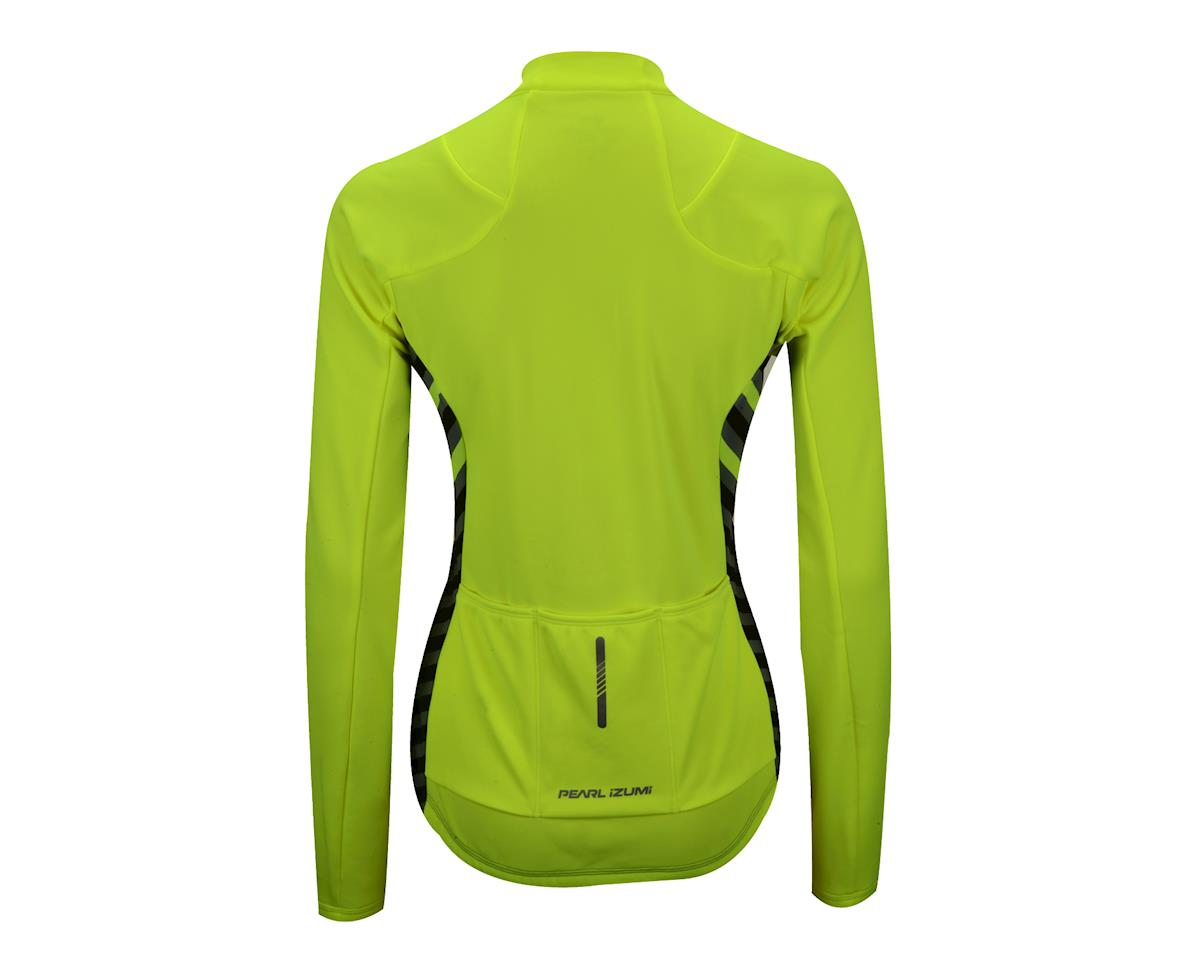 """Image 3 for Pearl Izumi Women's Select Pursuit Thermal Jersey (Screaming Yellow Stripe) (X-Large 40.5-42.5"""")"""