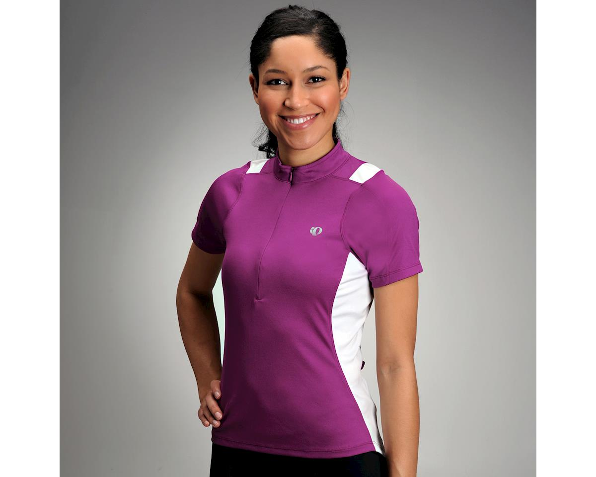 Image 3 for Pearl Izumi Women's Select Short Sleeve Jersey (Purple) (Xxlarge)
