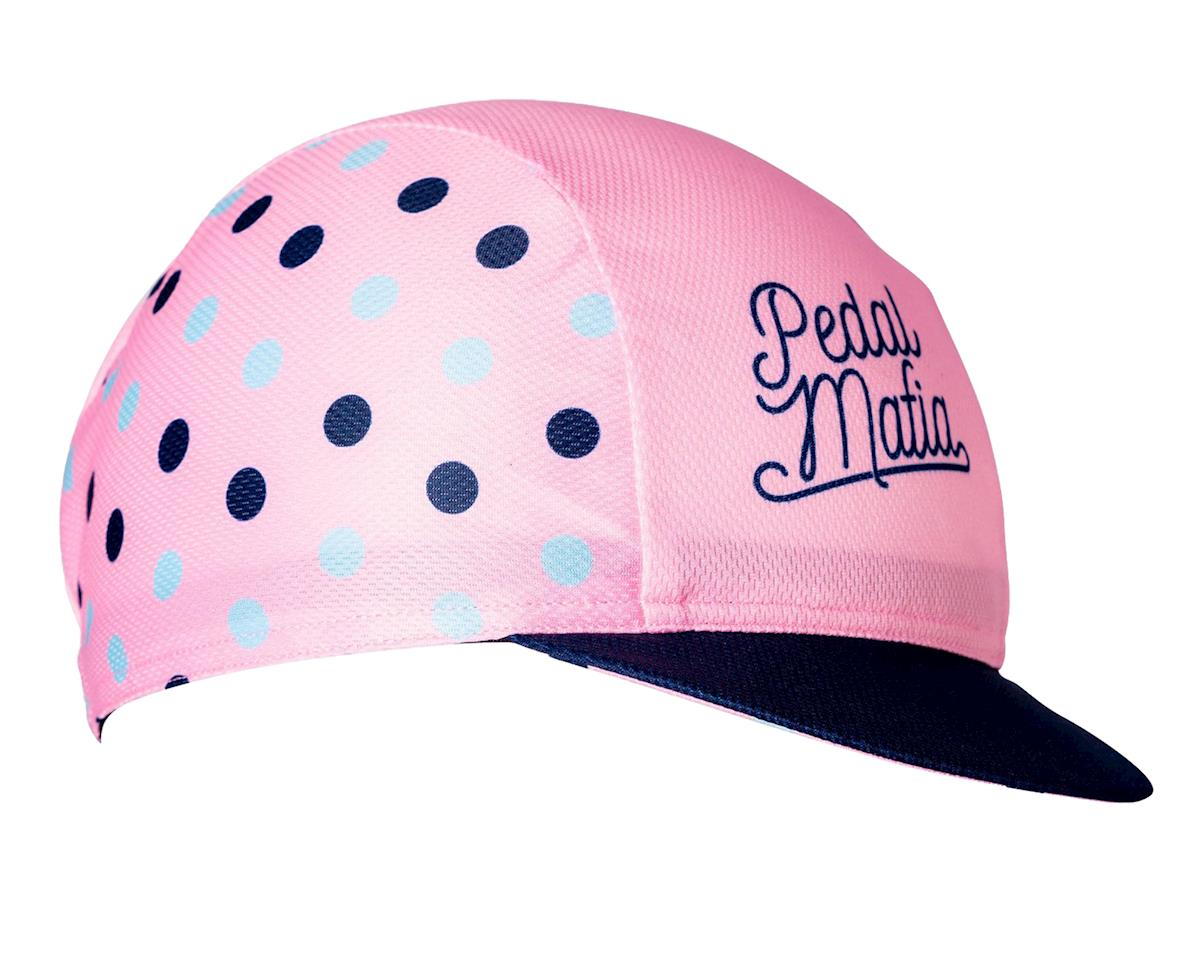 Pedal Mafia Cycling Cap (Pink Dots)