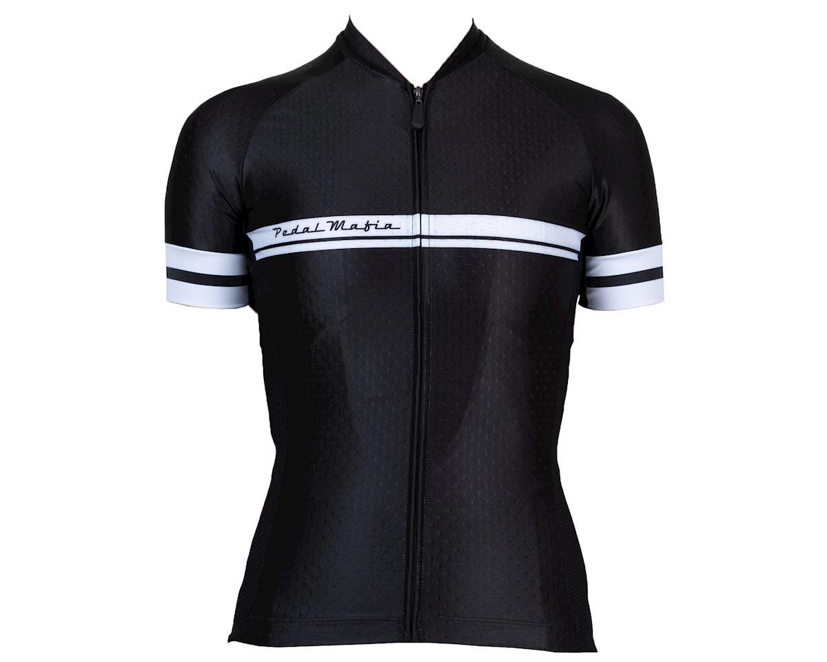 Pedal Mafia Women's Core Jersey (Black) (L)