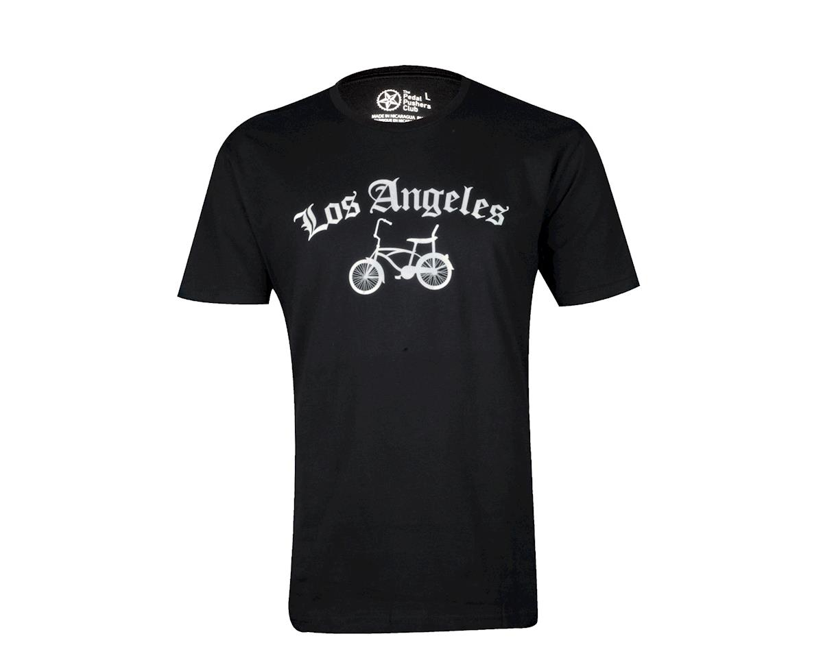 Pedal Pushers The Pedal Pusher Club Bike Los Angeles T-Shirt (Black)