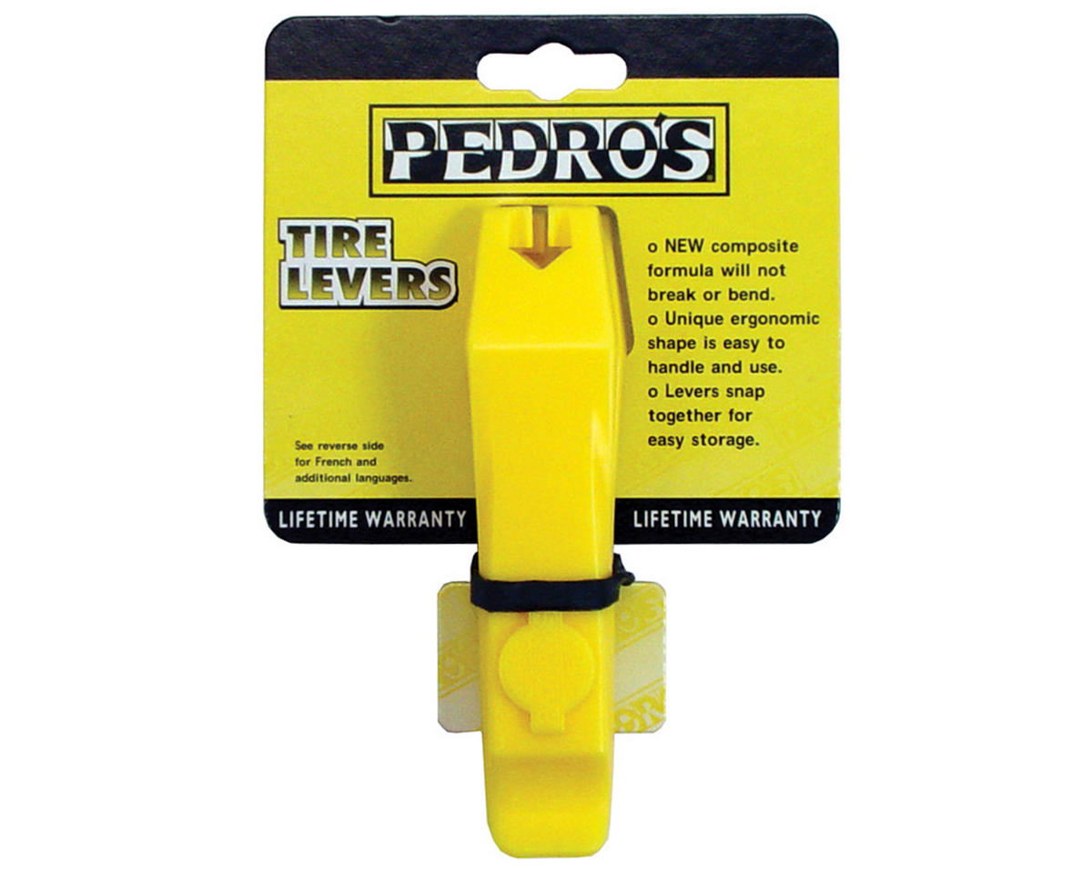 Pedro's Tire Levers (Yellow)