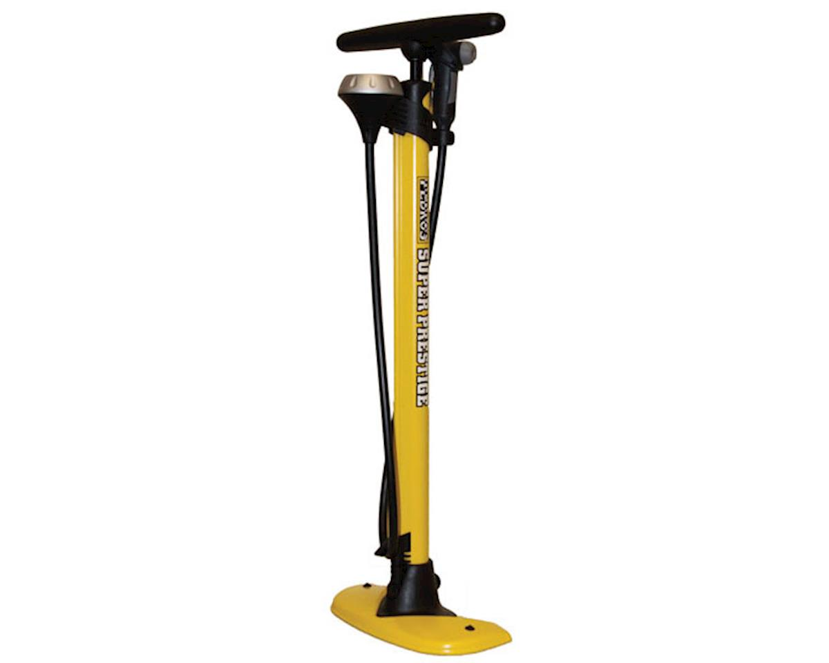 Pedro's Floor Pump Super Prestige Professional, Yellow