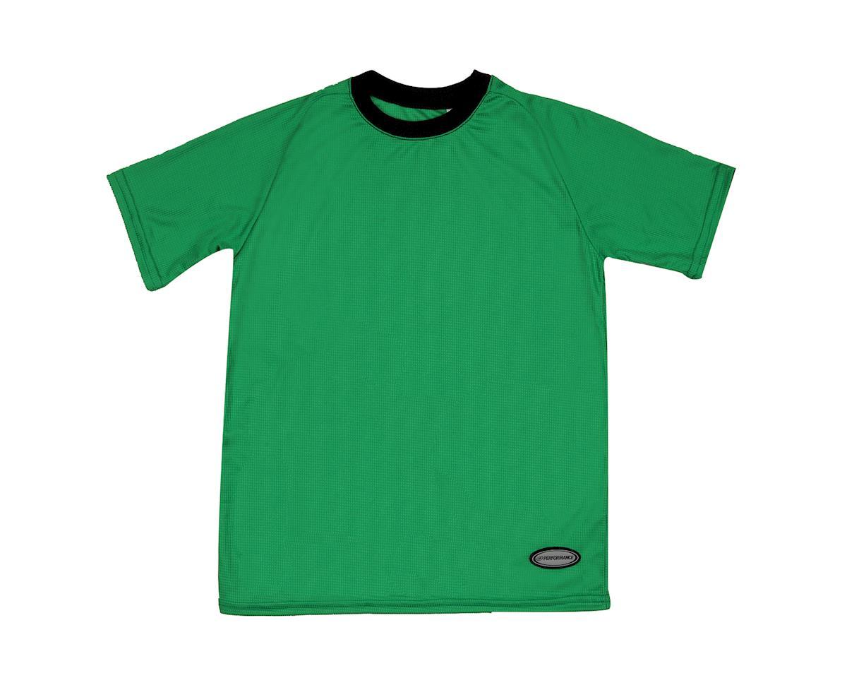 Performance Kids Mountain Short Sleeve Tee (Green)