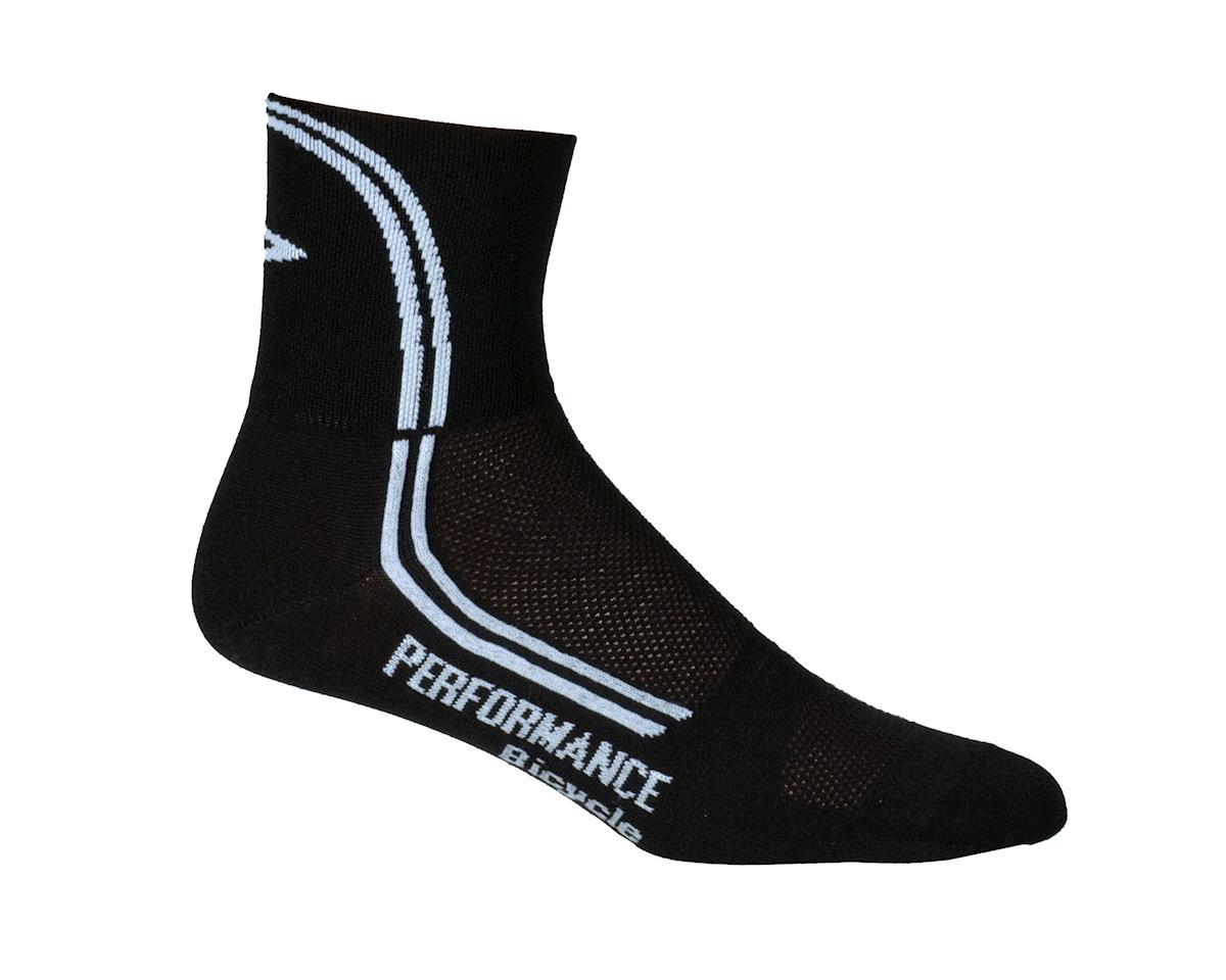 Performance DeFeet D-Line Socks - Performance Exclusive (Black)