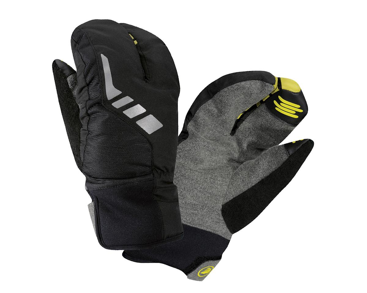 Performance Tok Weatherproof Split Finger Gloves (Black)