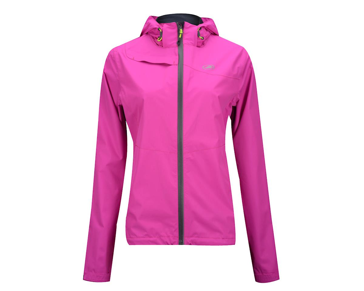 Performance Women's Impasse Rain Jacket (Neon Pk)
