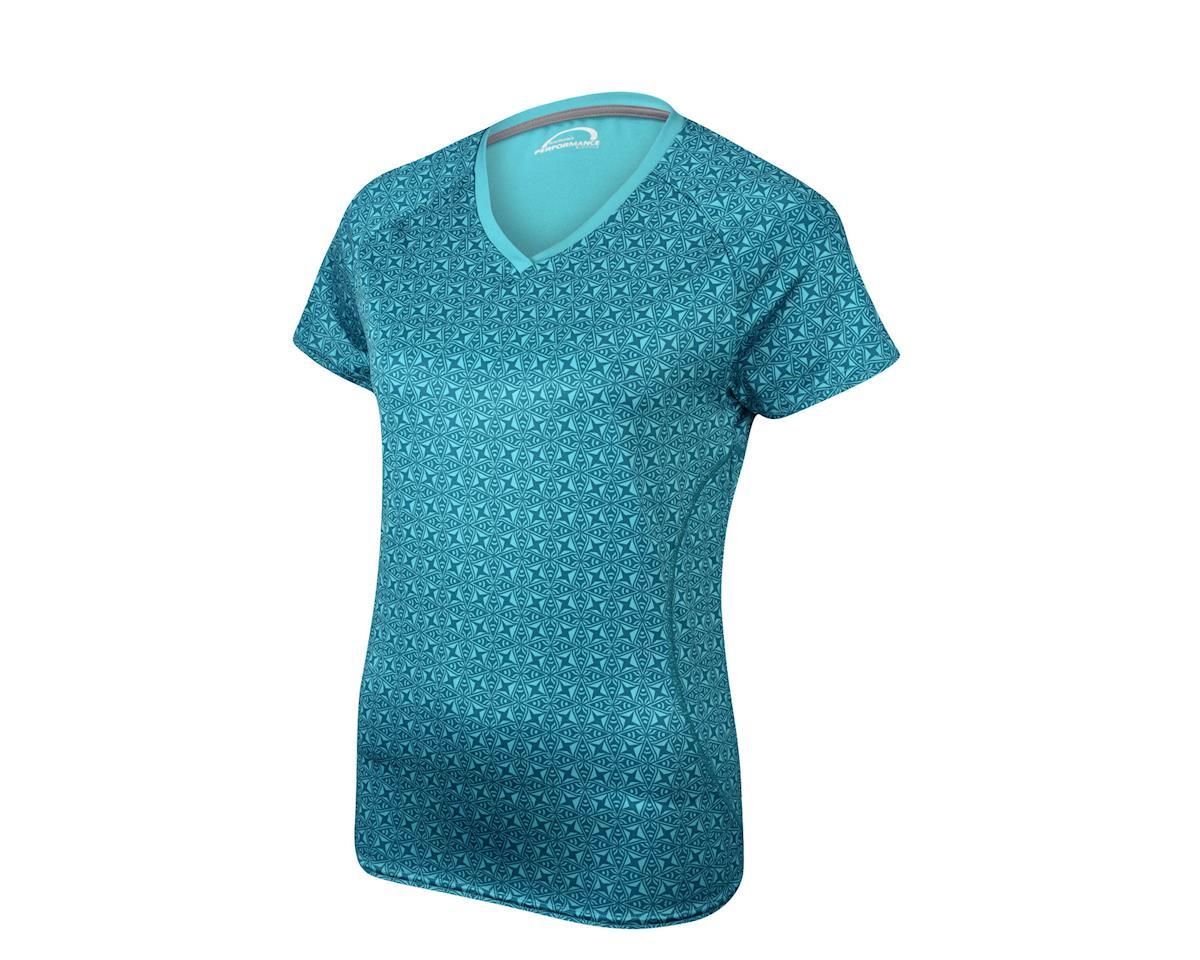 Performance Women's Lyric III Short Sleeve Jersey (Black/Charcoal)