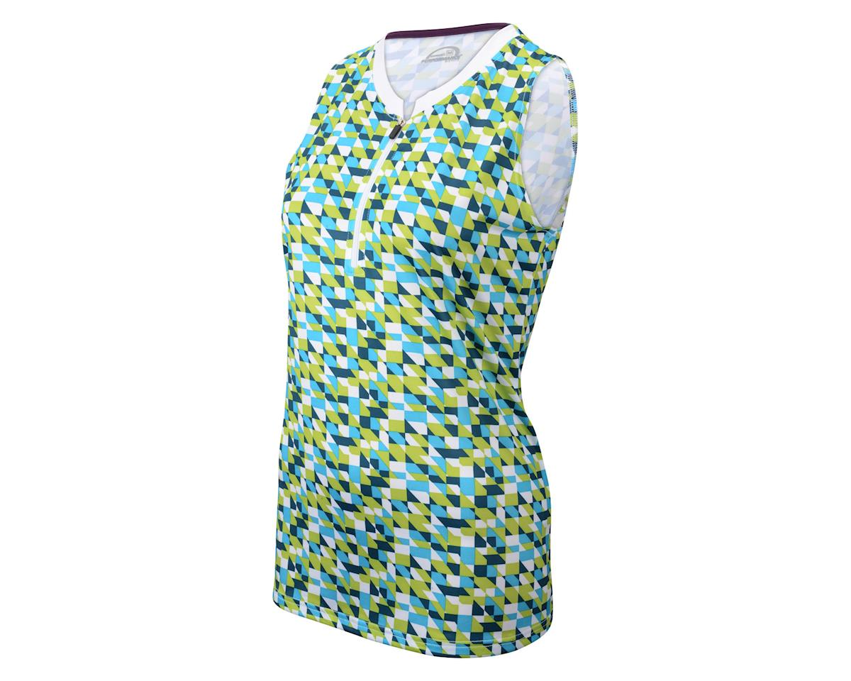 Performance Women's Alto III Sleeveless Jersey (Aqua)