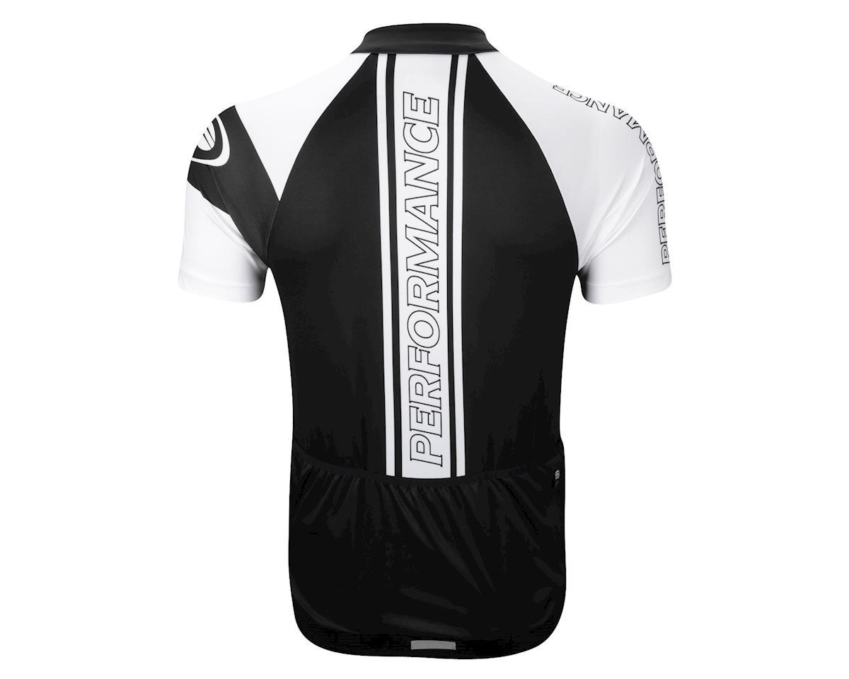 Performance Elite Team Short Sleeve Jersey (Black/White)