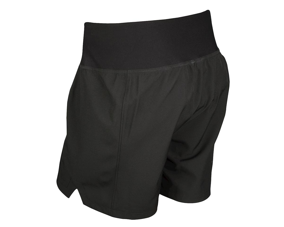 Image 2 for Performance Women's Sport Shorts with Liner (Black/Pink)