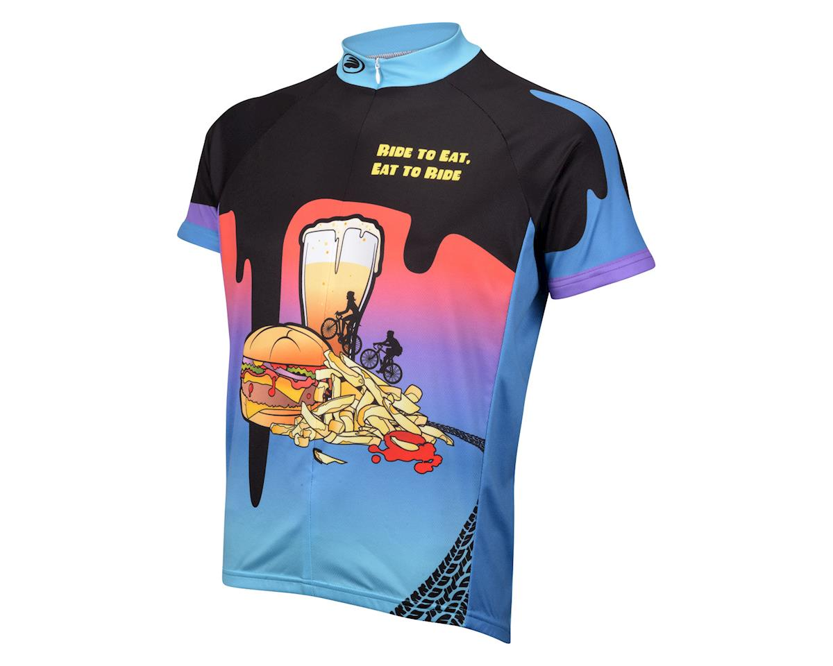 Performance Ride To Eat Short Sleeve Jersey (Multi)