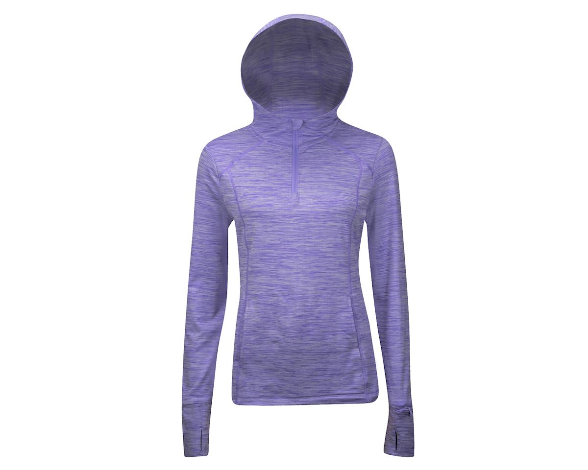 Performance Women's Sport Pullover Hoody (Purple)