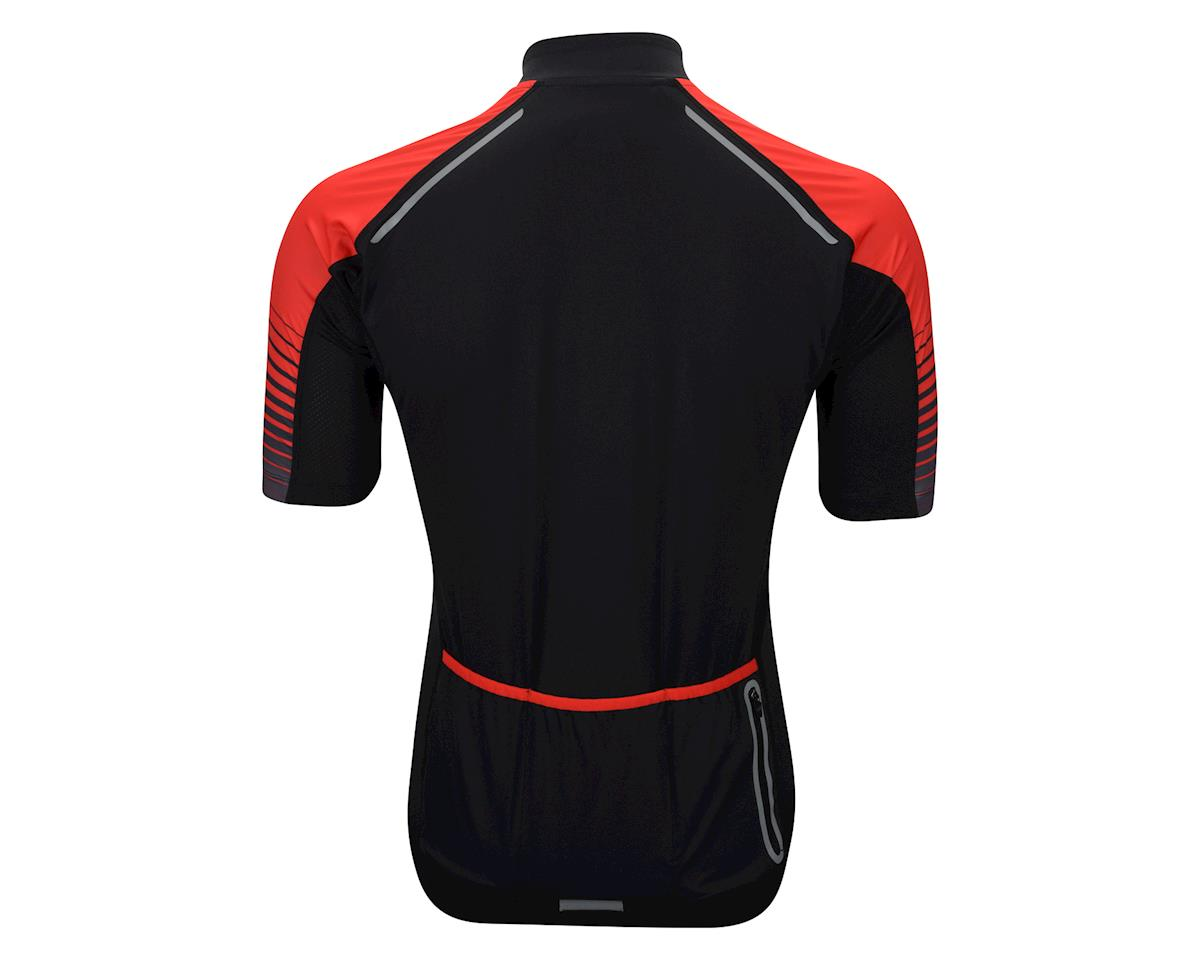 Performance Ultra Short Sleeve Jersey (Black/Red)
