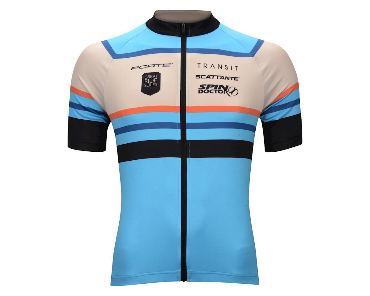 Performance Elite Team Retro Short Sleeve Jersey - 2017 (Blue/White)