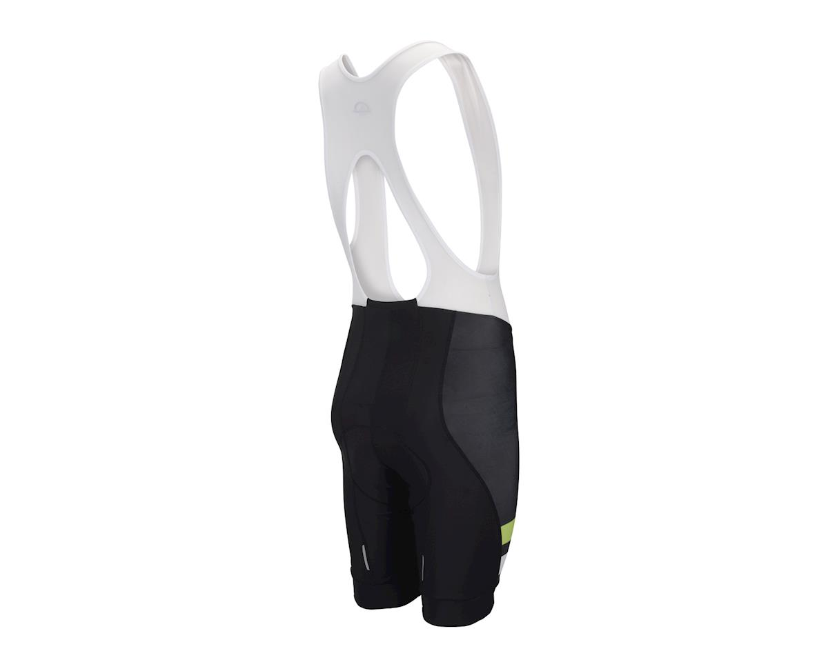 Performance Elite Team Bib Shorts - 2017 (White/Black/Green)