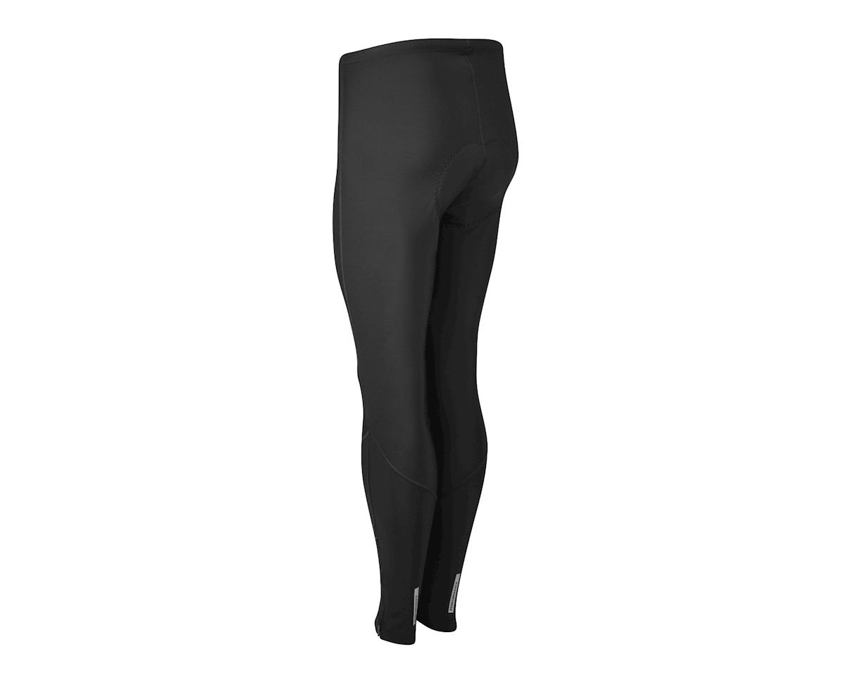 Performance Men's Thermal Flex Chamois Tights (Black) (L)