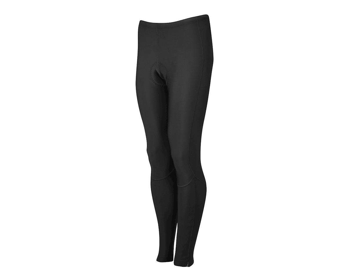 Performance Men's Thermal Flex Chamois Tights (Black) (XL)