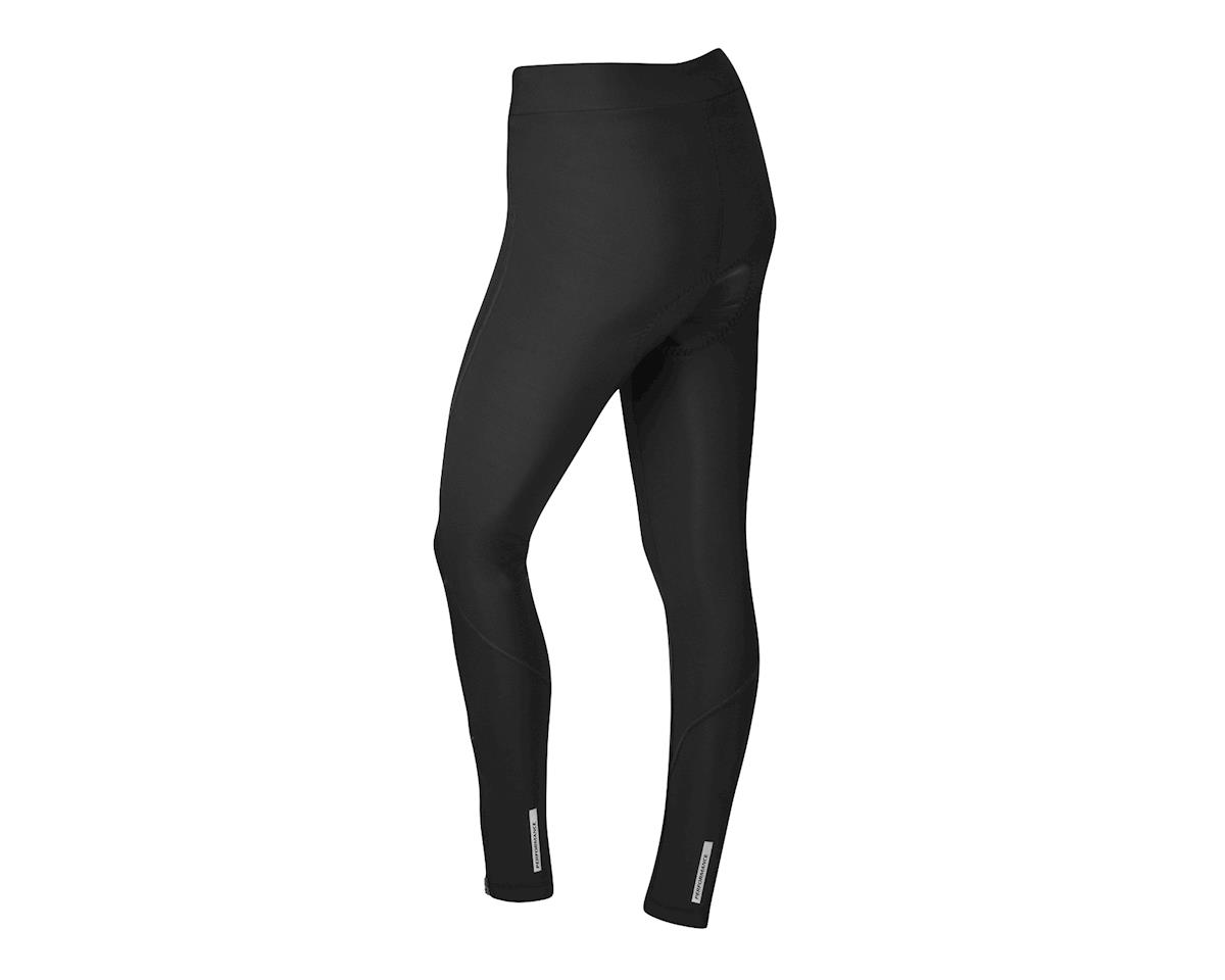 Performance Women's Thermal Flex Chamois Tights (Black) (XL)