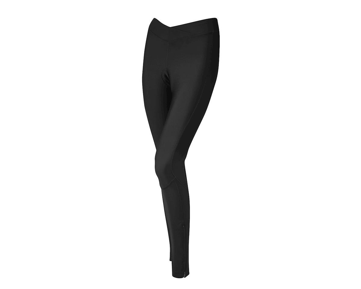 Performance Women's Thermal Flex Chamois Tights (Black) (2XL)