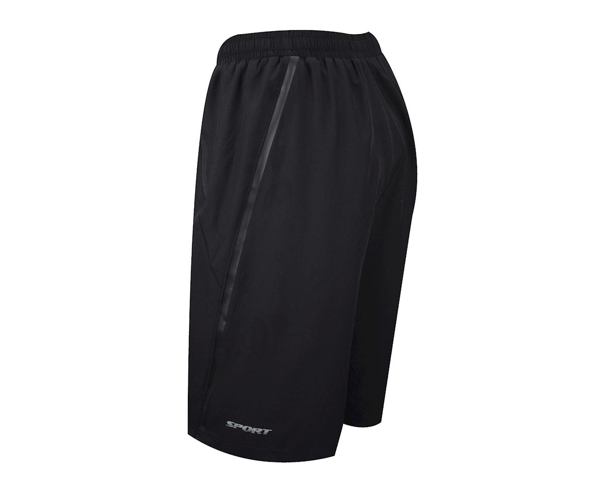 Image 2 for Performance Sport Shorts w/Liner (Black) (2XL)