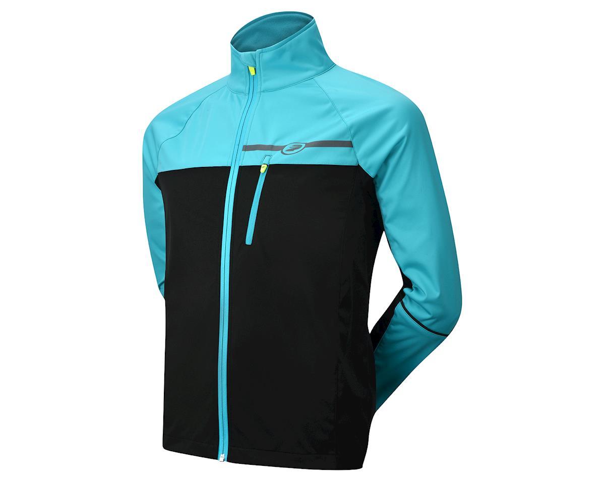 Performance Elite Zonal Softshell Jacket (Teal) (L)