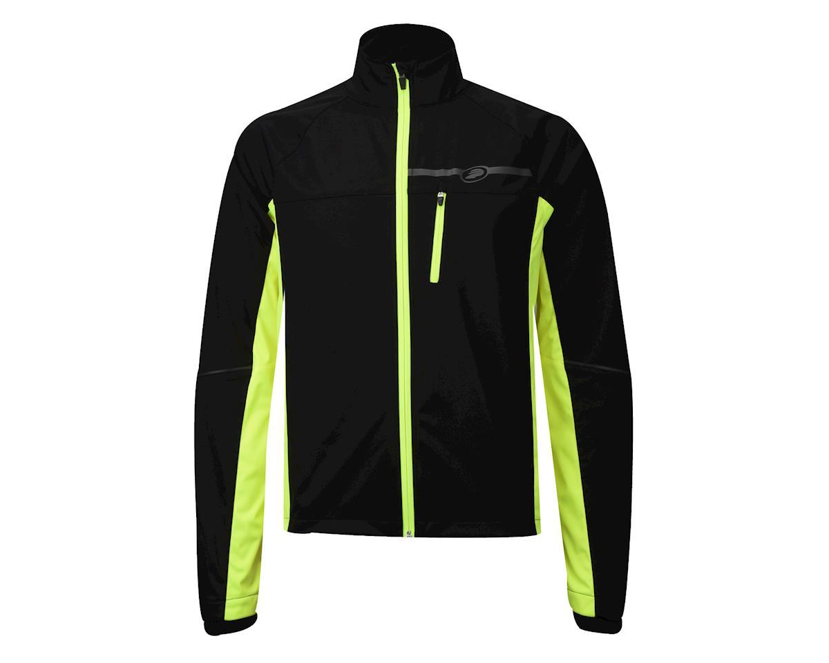 Performance Elite Zonal Softshell Jacket (Hi Vis Yellow) (L)