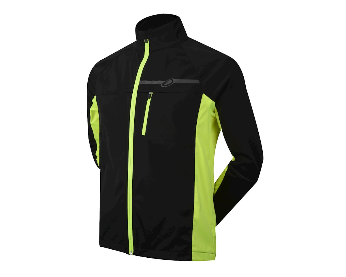 Performance Elite Zonal Softshell Jacket (Hi Vis Yellow) (S)