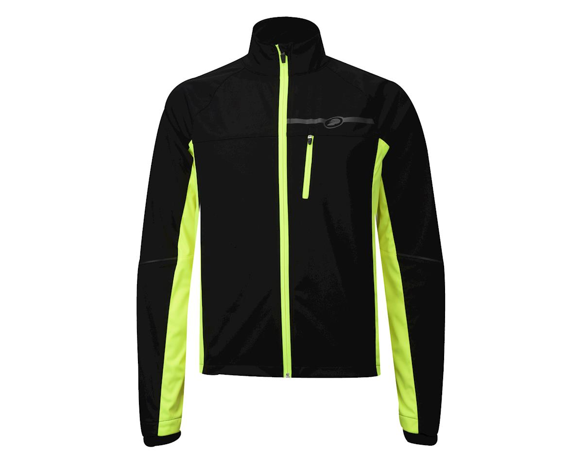 Performance Elite Zonal Softshell Jacket (Hi Vis Yellow) (S)