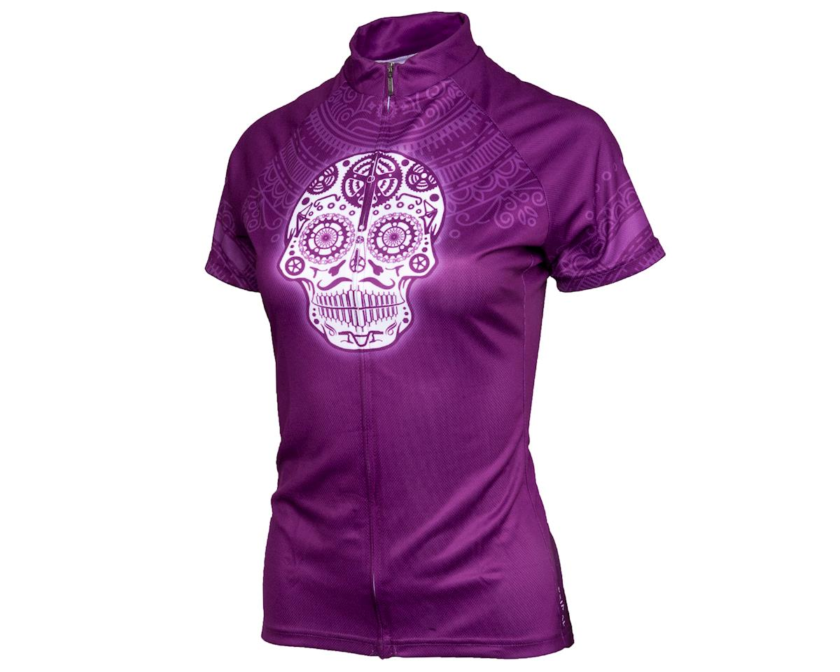 Performance Women's Cycling Jersey (Los Muertos) (2XL)