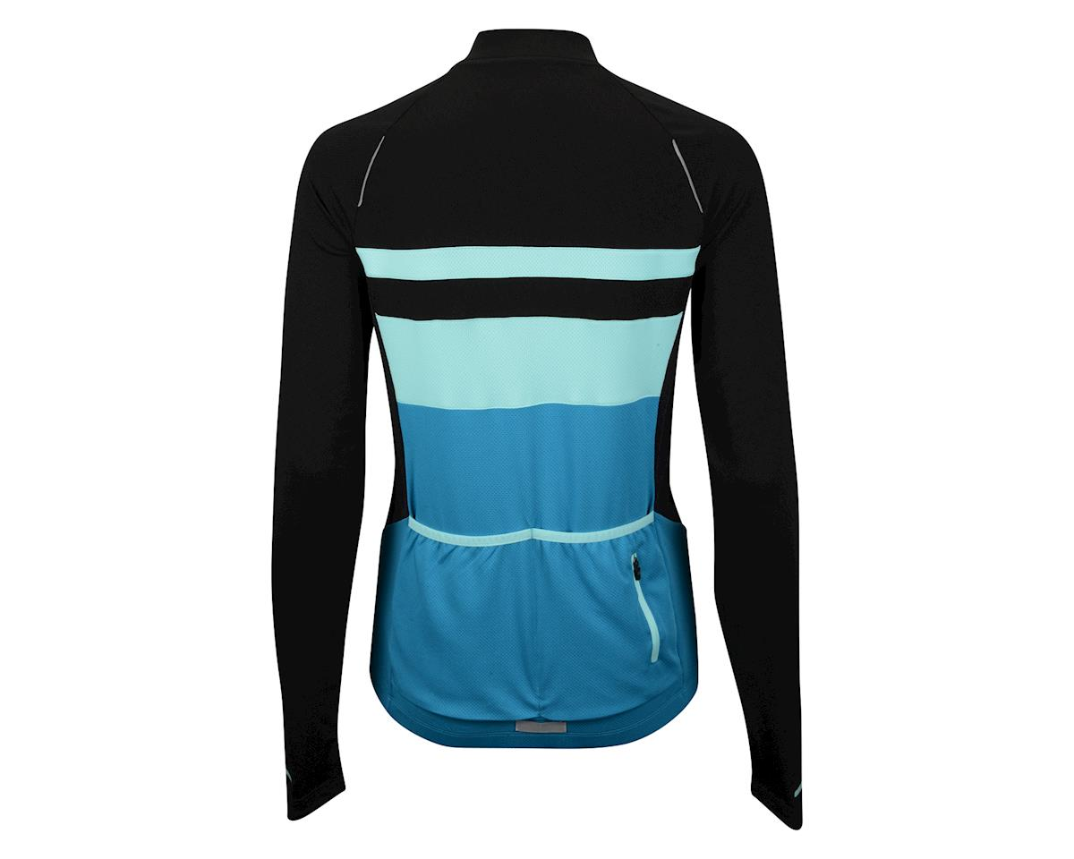 Image 2 for Performance Women's Elite Chill Long Sleeve Jersey (Blue/Black) (Xxlarge)