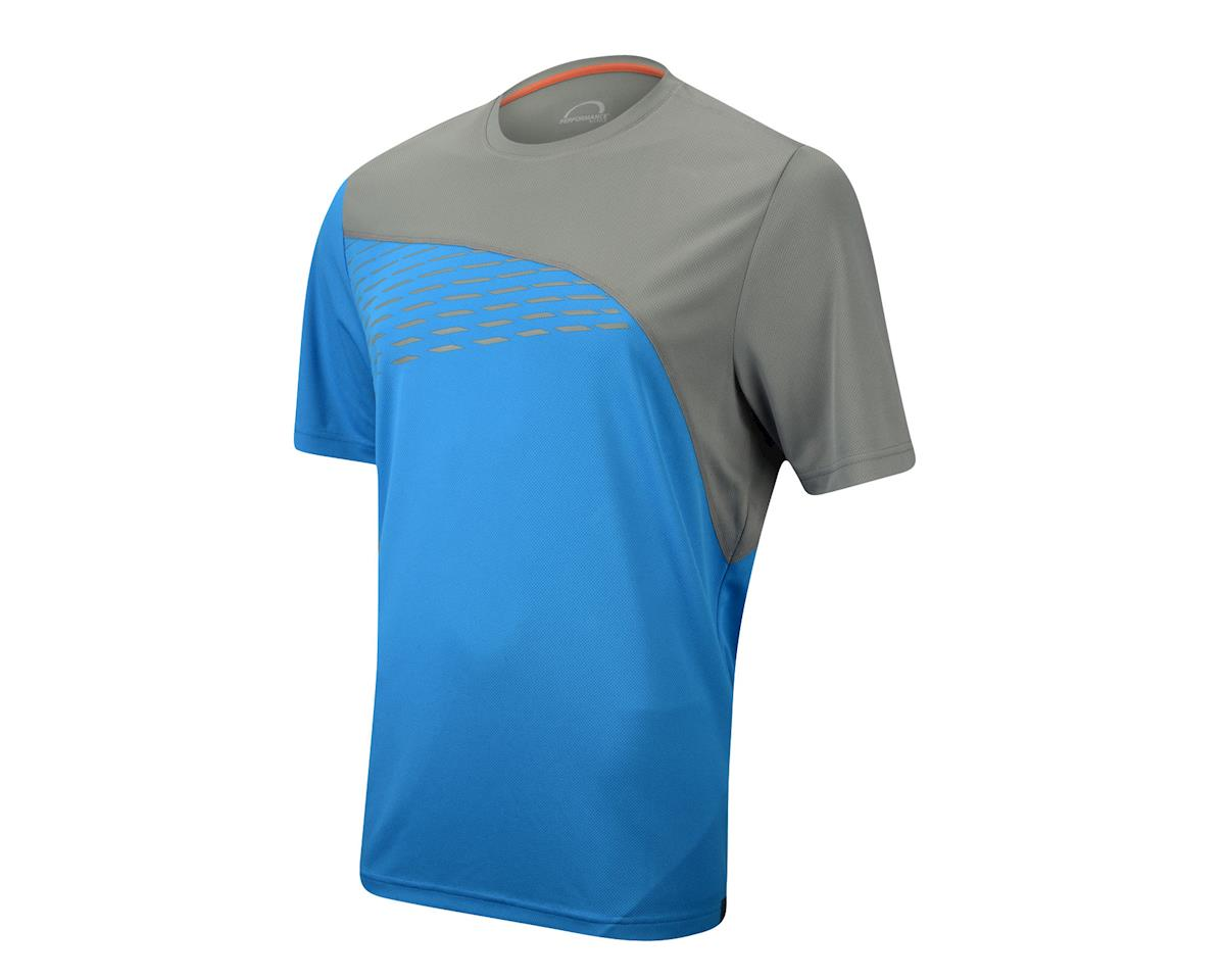 Performance Crest Mountain Tee (Blue) (Xxlarge)