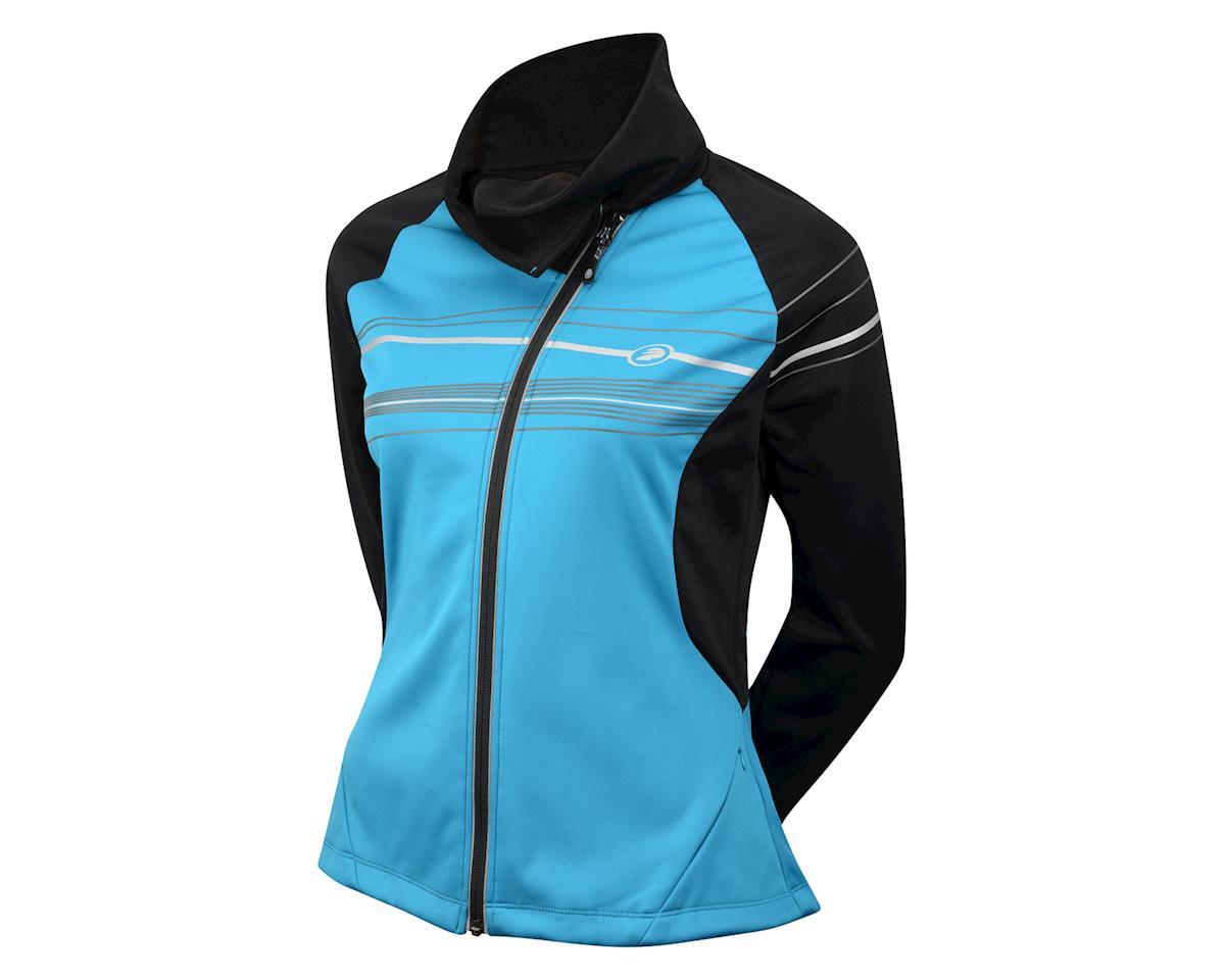 Performance Women's Elite Flurry Jacket (Black/Blue) (Xxlarge)