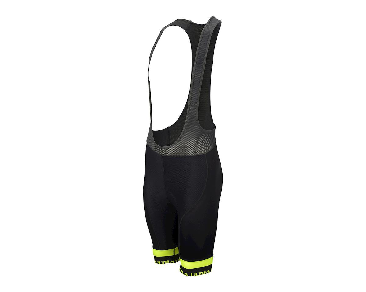 Performance Ultra Bib Shorts (Black/Yellow) (2XL)