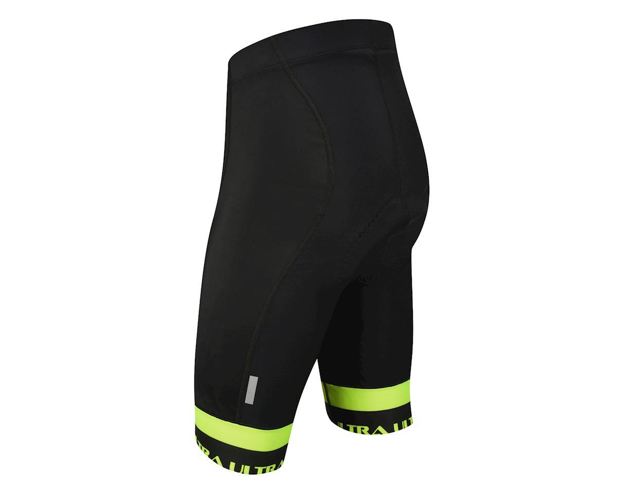 Performance Ultra Shorts (Black/Yellow) (L)