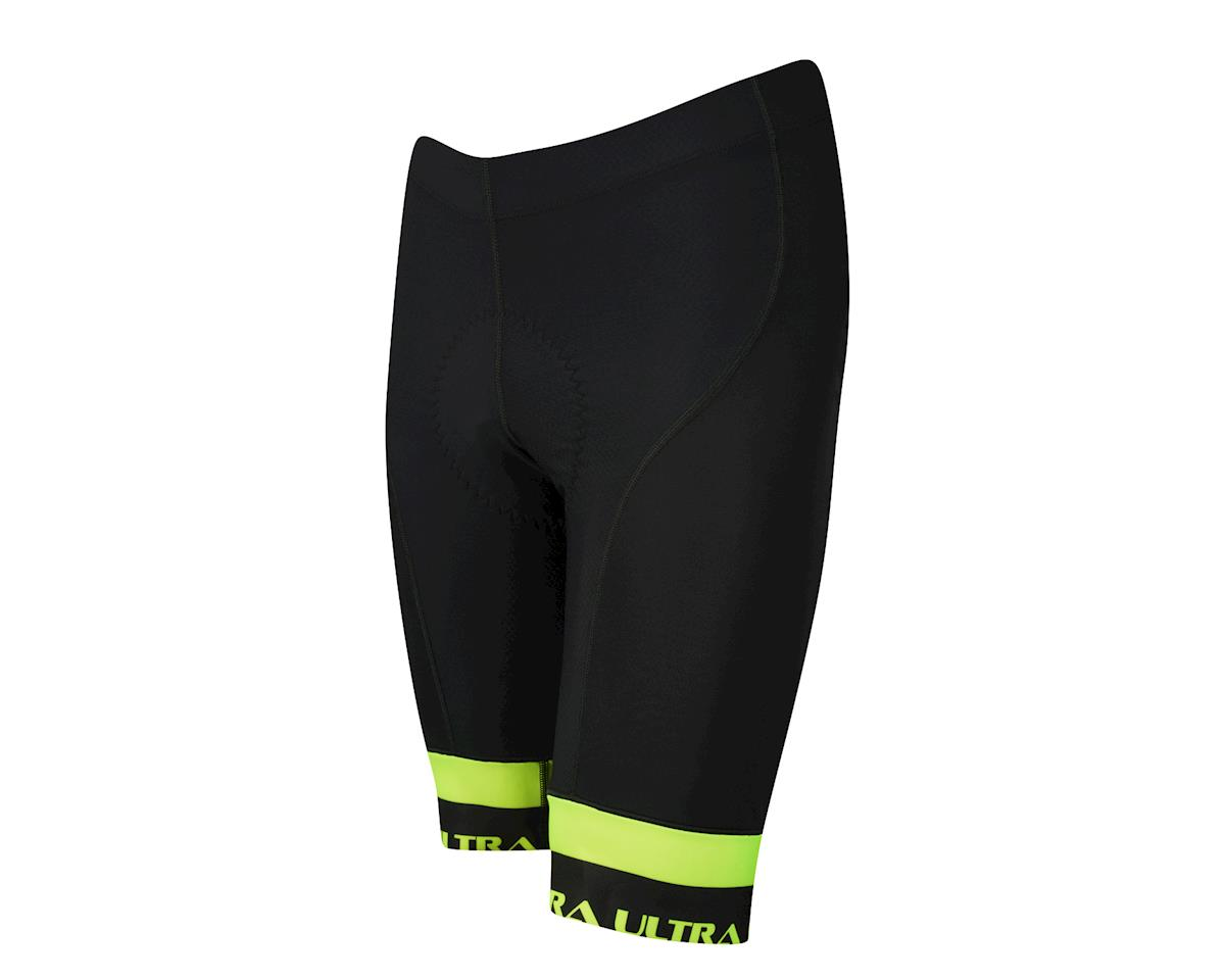Performance Ultra Shorts (Black/Yellow) (XL)