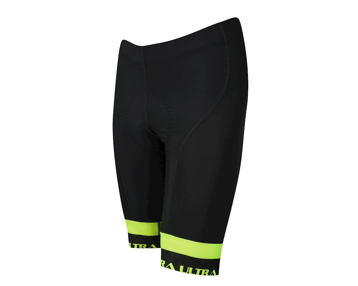 Performance Ultra Shorts (Black/Yellow) (2XL)