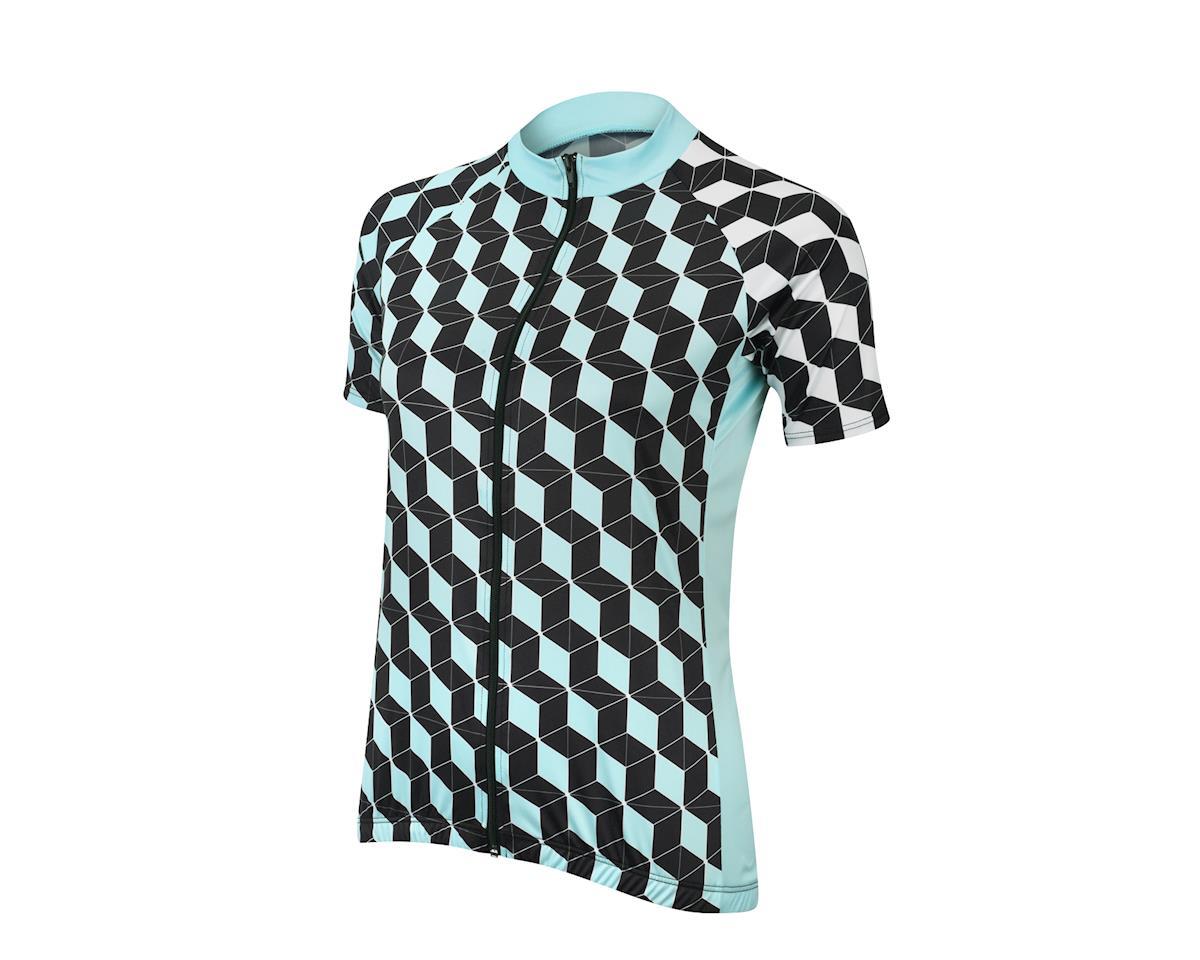 Image 1 for Performance Women's Elite Filter Jersey (Black/Blue) (Xx Large)