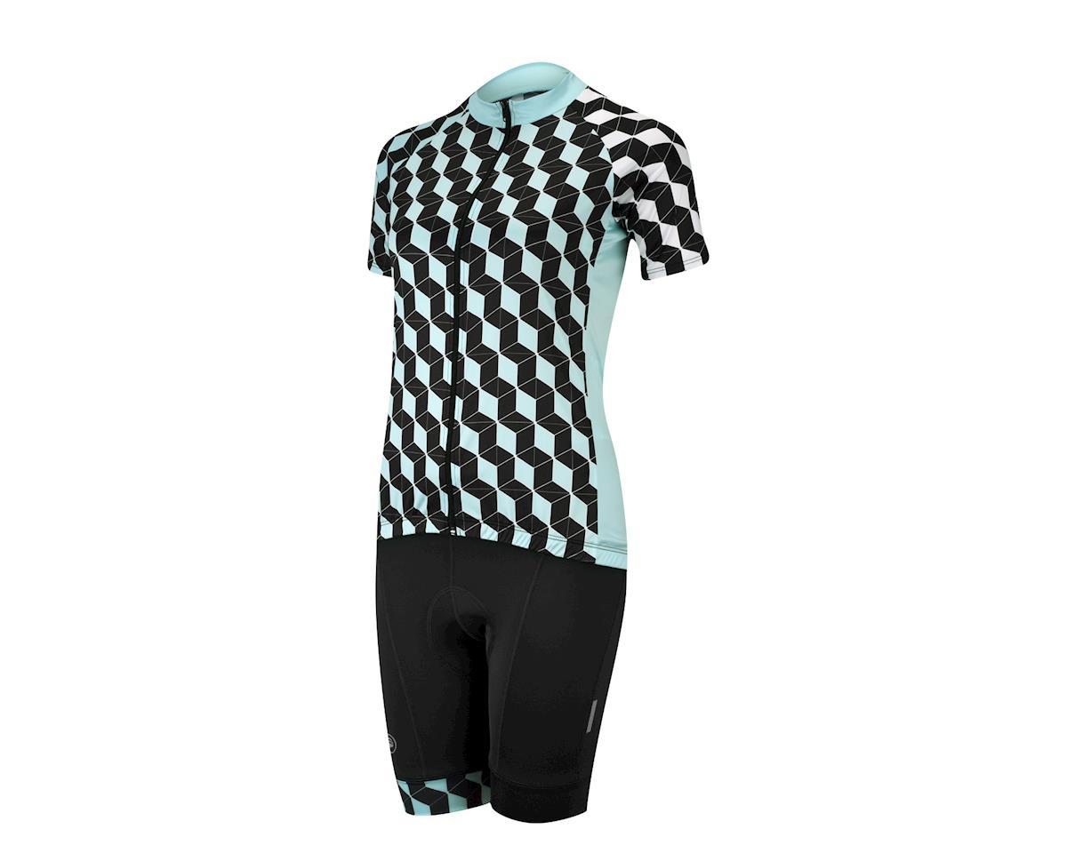 Image 4 for Performance Women's Elite Filter Jersey (Black/Blue) (Xx Large)