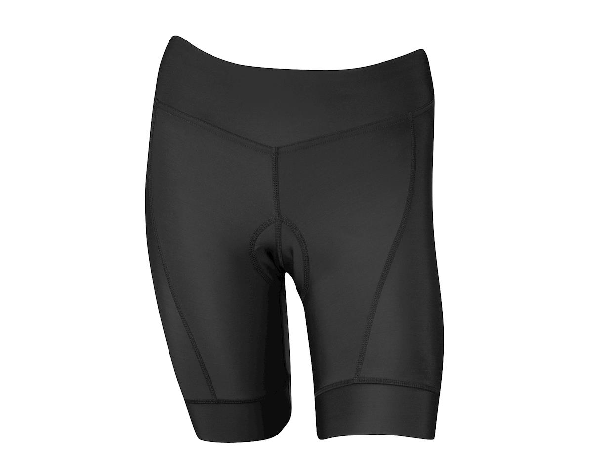 Performance Women's Elite Shorts (Black/White) (Xxlarge)