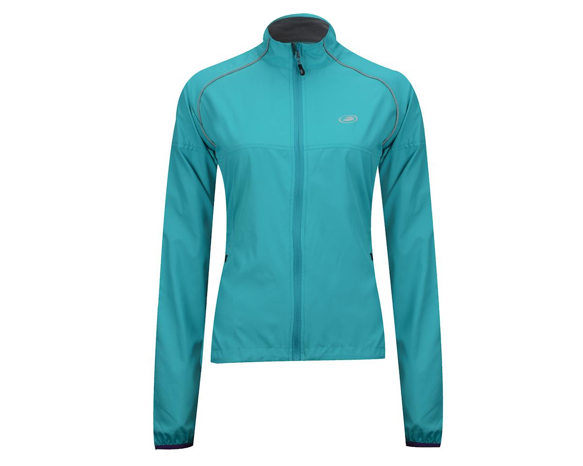 Performance Women's Flow Wind Jacket (Screaming Yellow) (Xlarge)