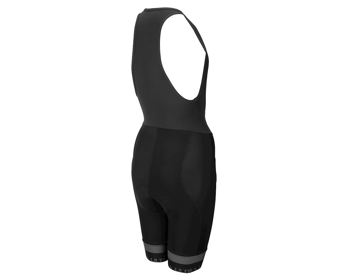Image 2 for Performance Women's Ultra Bib Shorts (Black/Charcoal) (XL)