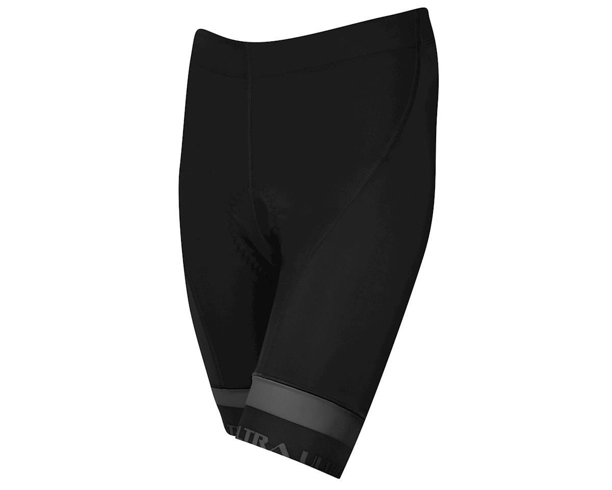 Performance Women's Ultra Shorts (Black/Charcoal) (L)