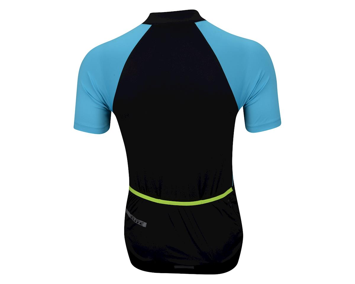Performance Elite Echelon Short Sleeve Jersey - 2017 (Blue/Black) (Xxlarge)