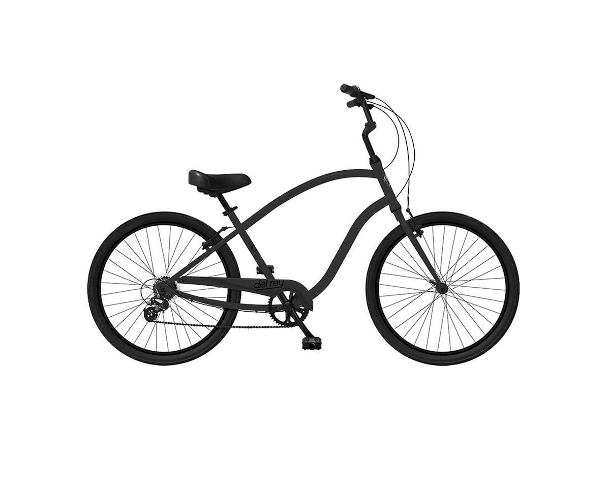 Phat Cycles Del Rey 7-speed Comfort Bike (Black)
