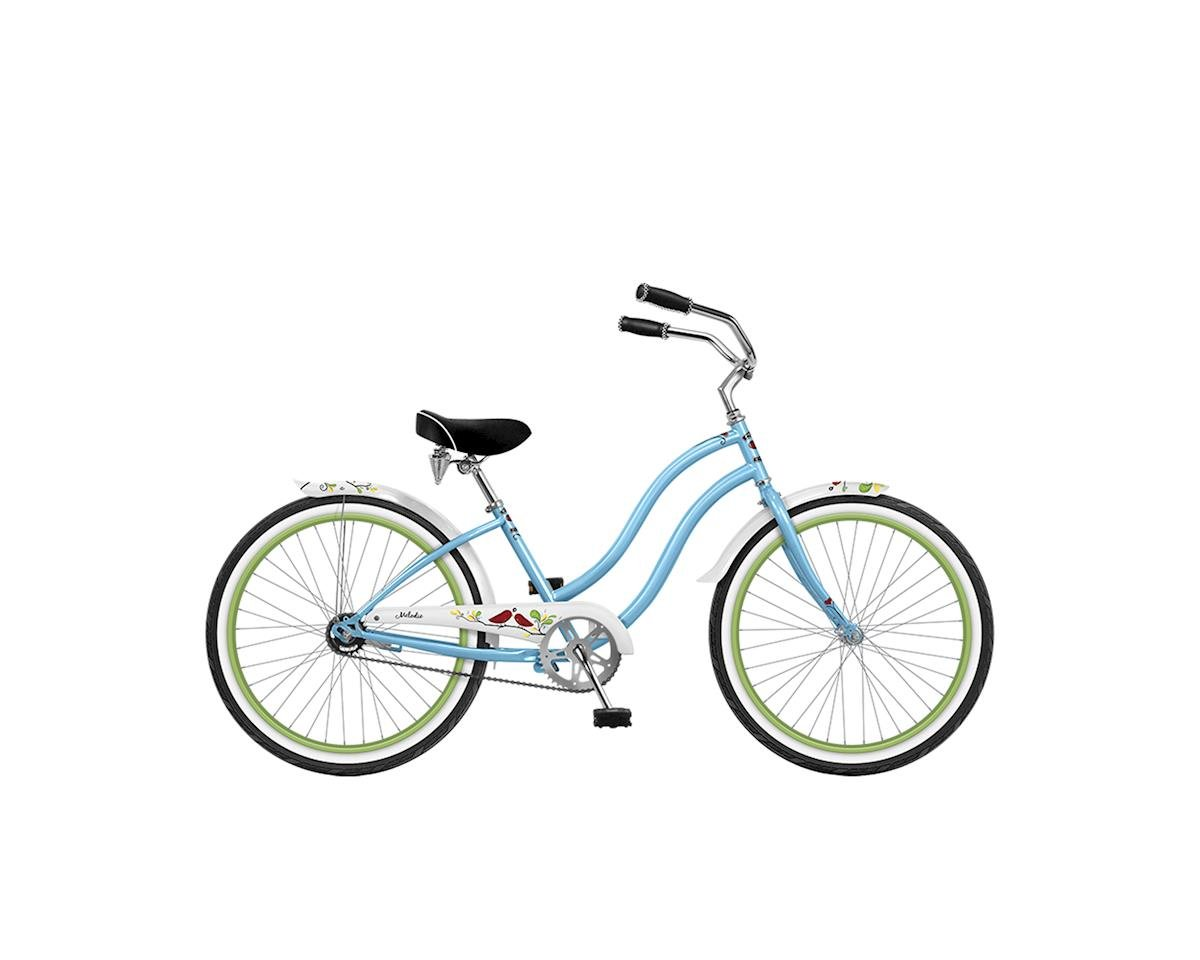 """Phat Cycles Melodie Single-Speed Girl's 24"""" Beach Cruiser - 2017 (Green)"""