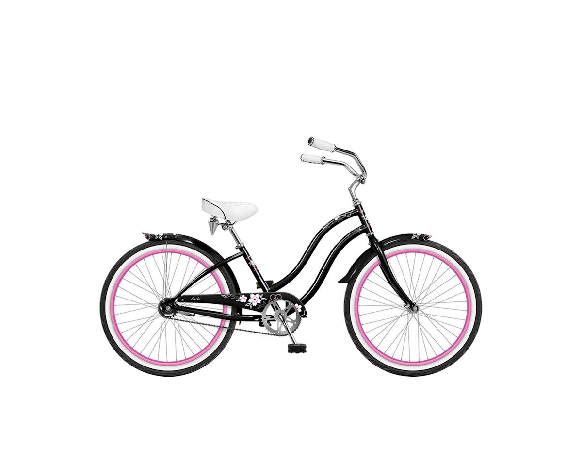 Phat Cycles Sachi 24 Girl's Beach Cruiser -- Single Speed (Black)