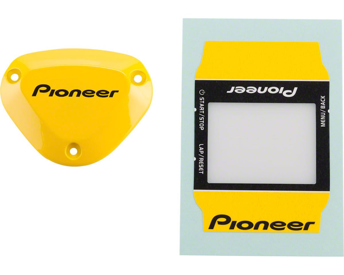 Pioneer Power Meter Cover And Computer Wrap, Yellow