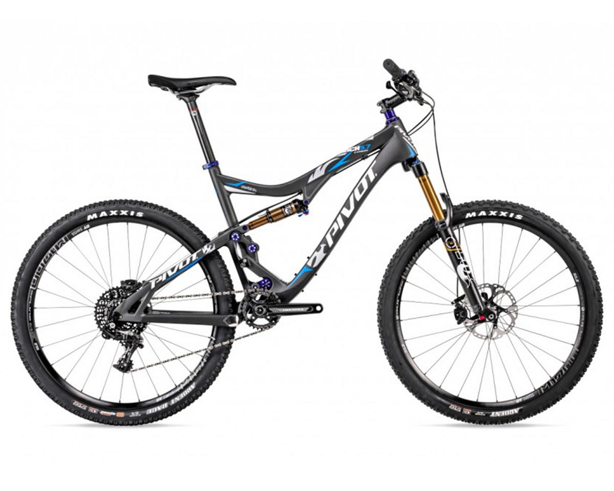 Pivot MACH 5.7 27.5 Carbon Full Suspension Mountain Bike (2015) (Blue)