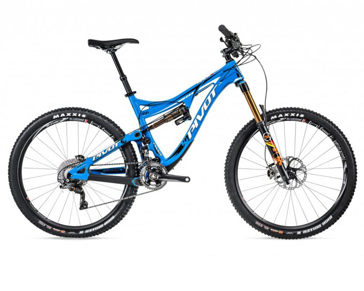 Pivot MACH 6 27.5 Carbon Full Suspension Mountain Bike (2015) (Blue)